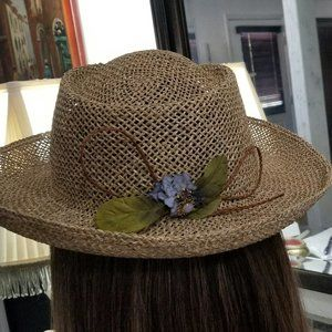 COUNTRY CHIC MADE IN ITALY HAT
